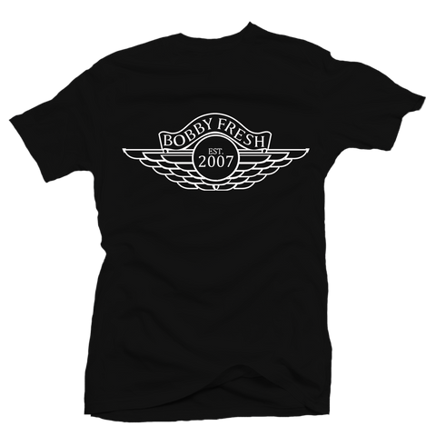 Wings OG Black Tee
