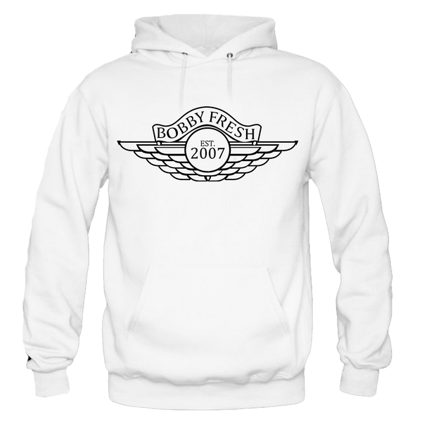 Wings White Hoody