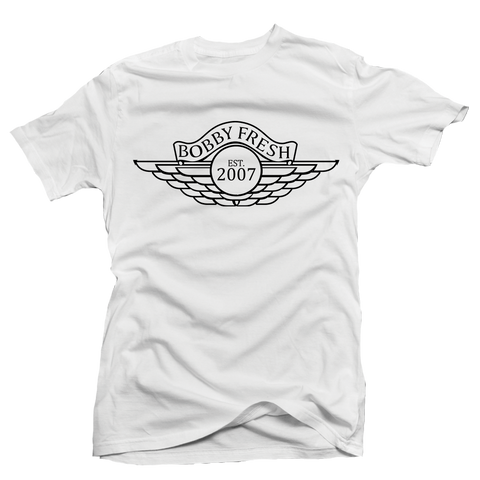 Wings OG White Tee