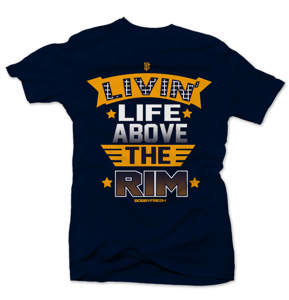 Above the Rim Blue Tee