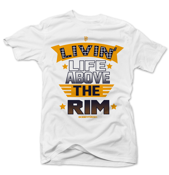 Above the Rim White Tee