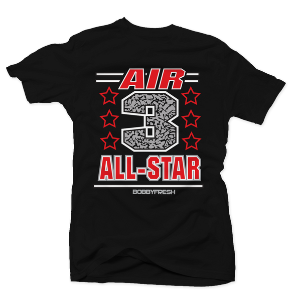 Air 3 Black Cement Tee