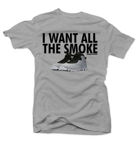 All the Smoke Grey Tee