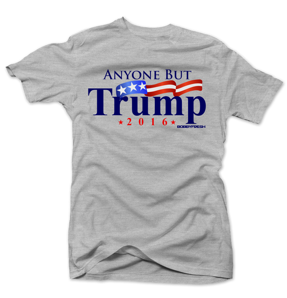 Anyone But Trump Grey Tee