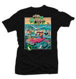 Back to the Beach Black Tee