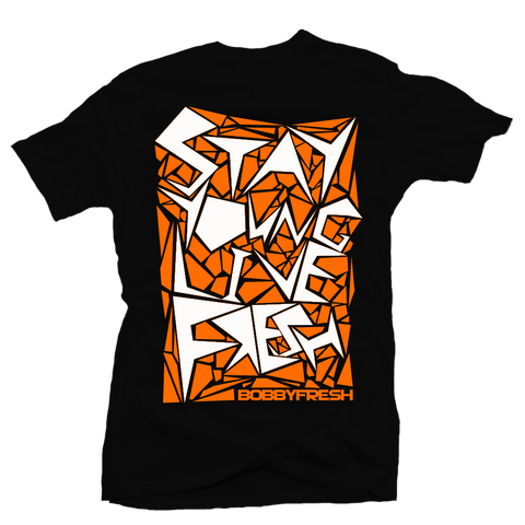 Bebop Shattered Backboard Black Tee