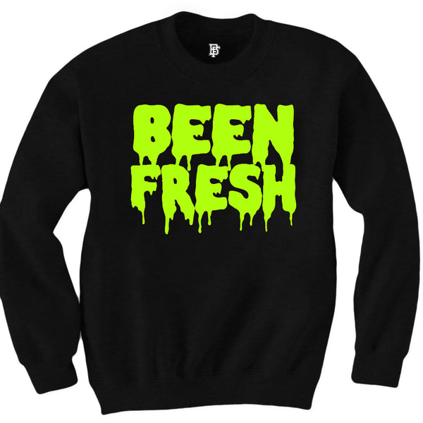 Been Fresh Volt Black Crewneck
