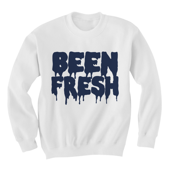 Been Fresh Columbia White Crewneck