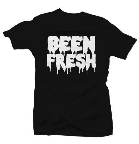 Been Fresh Black Tee (Reverse He Got Game)