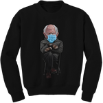 Bernie Black Crewneck Sweater - Bobby Fresh