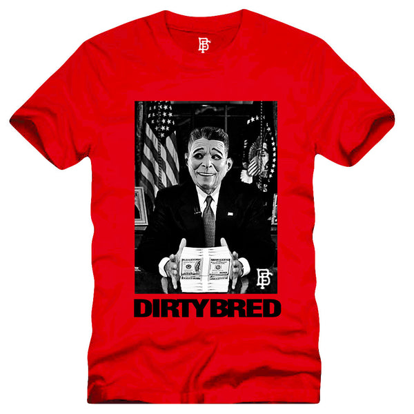 Dirty Bred Red Tee (Summer Blowout) - Bobby Fresh