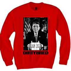 Dirty Bred Red Crewneck
