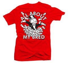 All About My Bred Red Tee