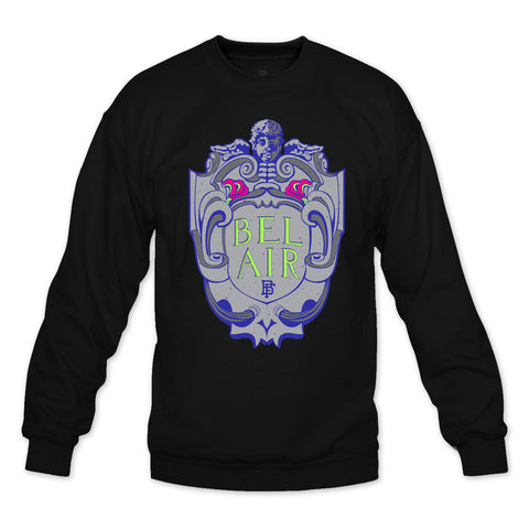 Bel Air Black Crewneck