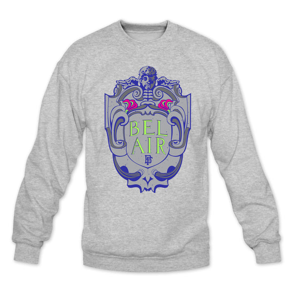 Bel Air Heather Grey Crewneck
