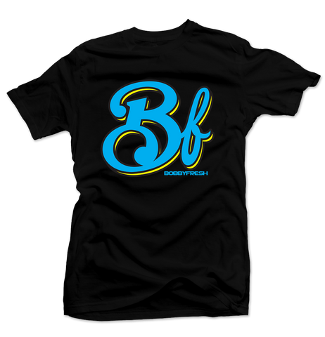 Big BF Black/Gamma Blue Tee