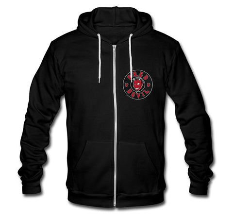 The Bred Devil Zip-Up Hoodie