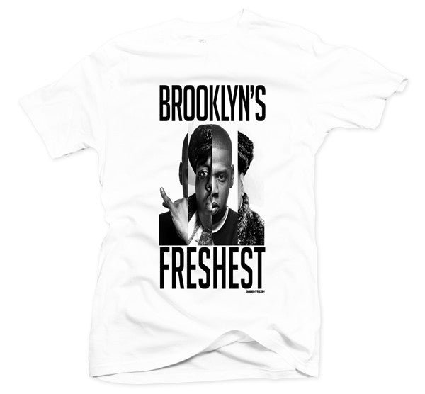 Brooklyn White Tee - Bobby Fresh