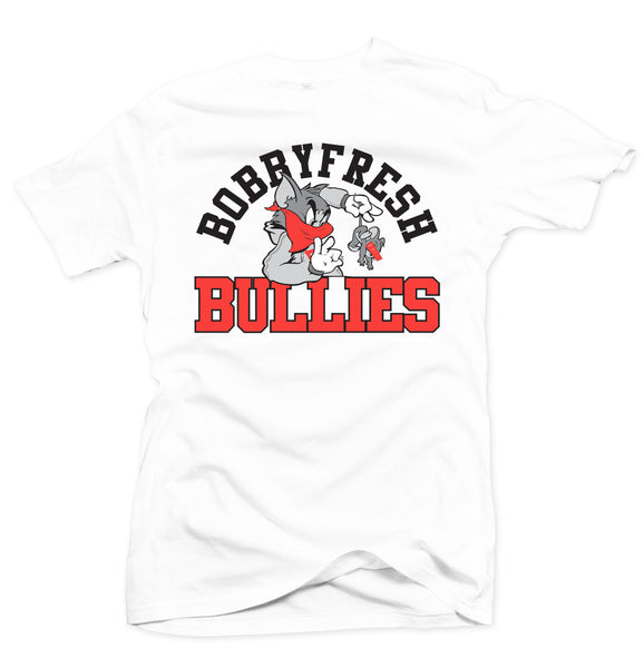 Bully White/Infrared Tee