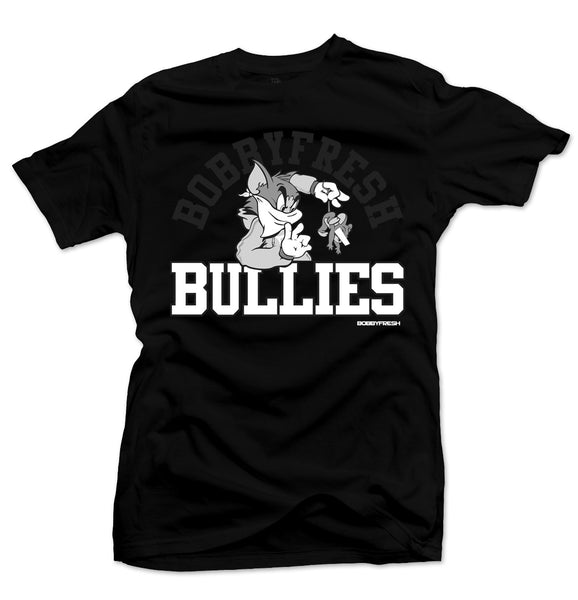 Bully Black/White Tee - Bobby Fresh
