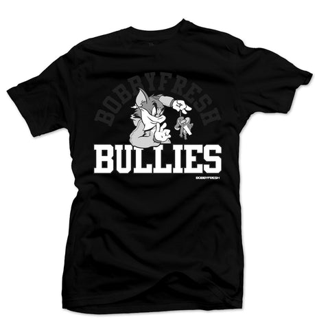 Bully Black/White Tee