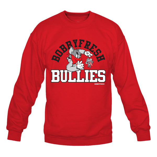 Bully Red/Black Crewneck