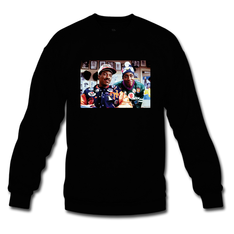 Coming to Fresh Black Crewneck