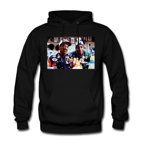 Coming to Fresh Black Hoodie