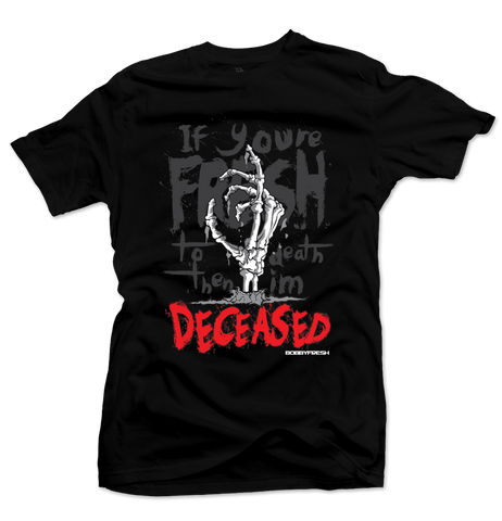 Deceased Black Tee