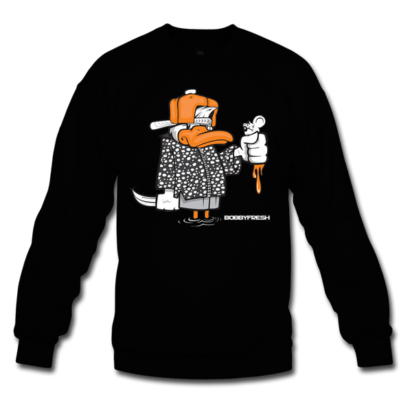 Dirty Rat Black/Orange Crewneck