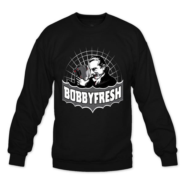 Draw Blood Black Crewneck