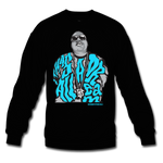 Dream BIG Black/Blue Crewneck - Bobby Fresh