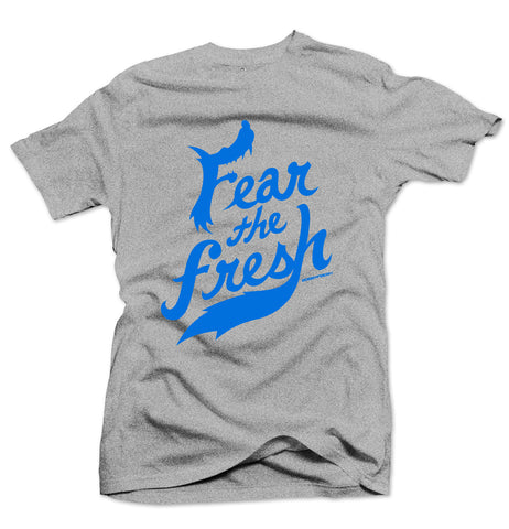 Fear the Fresh Sport Blue/Heather Grey Tee