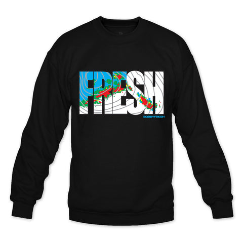 Forecast Black Crewneck