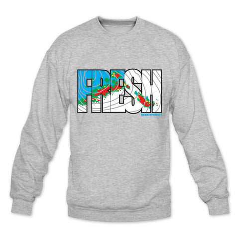 Forecast Heather Grey Crewneck