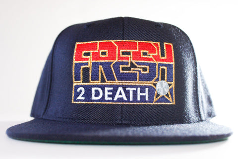 Fresh 2 Death Navy Snapback