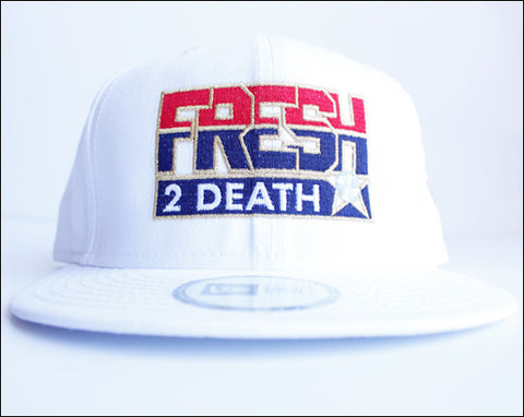Fresh 2 Death New Eraå¨ White Snapback