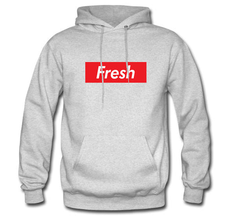 The Fresh Box Heather Grey Hoodie