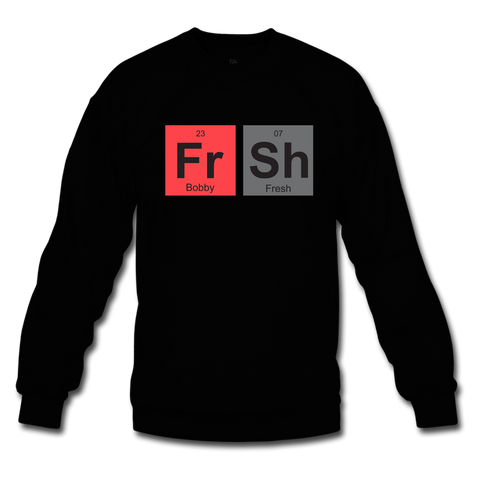 Fresh Elements Black/Infrared Crewneck