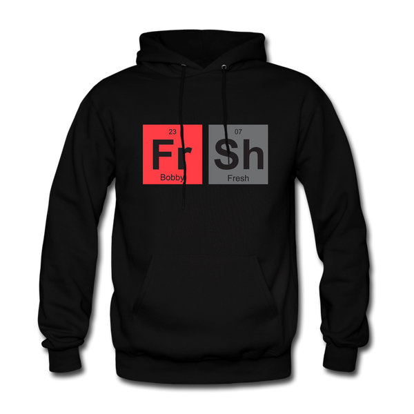 Fresh Elements Black/Infrared Hoodie