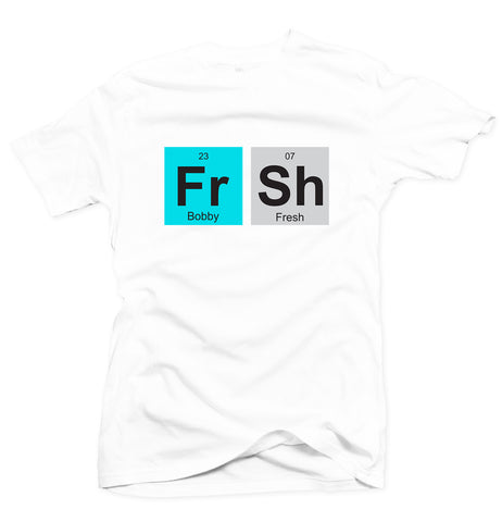 Fresh Elements White Tee