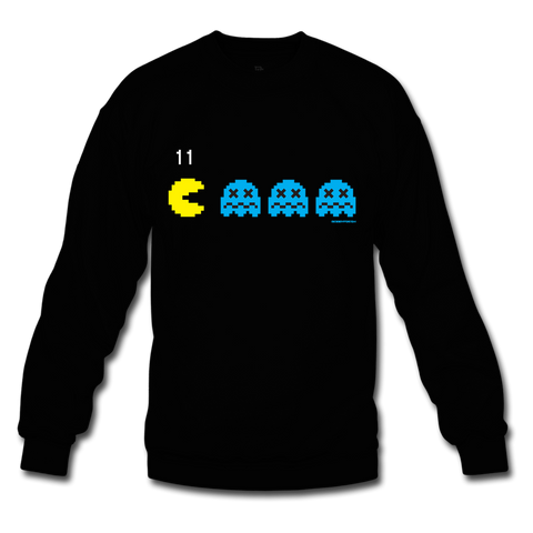 Fresh Pac Black/Gamma Blue Crewneck