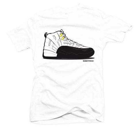 Fresh XII White/Black Tee