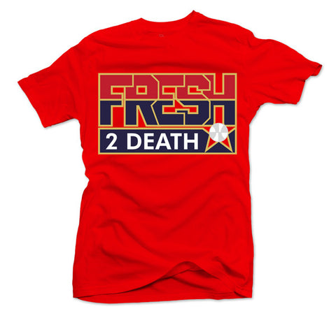 Fresh 2 Death Red Tee