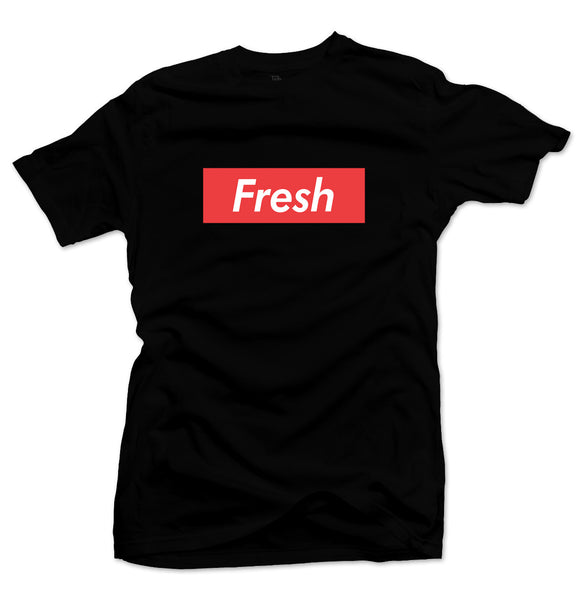 Fresh Box Black/Infrared Tee