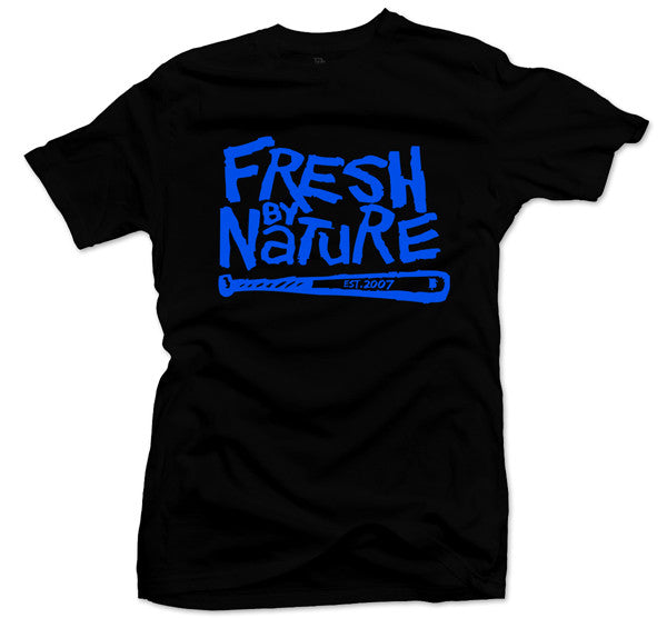Fresh By Nature Black/Blue Tee