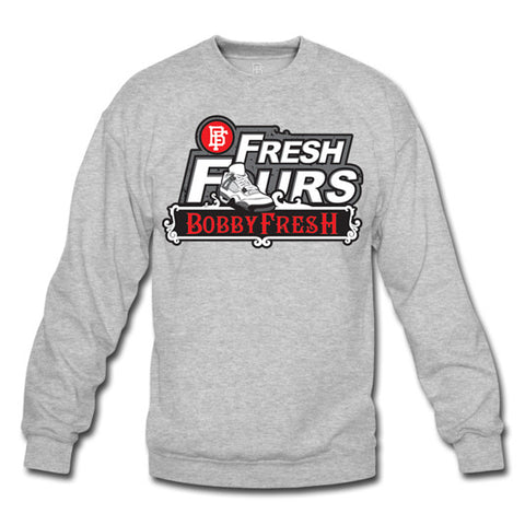 Fresh Fours Crewneck