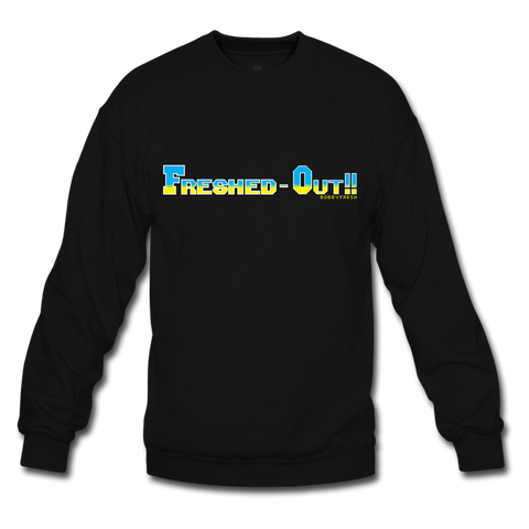 Freshed Out Black/Blue Crewneck