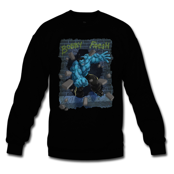 Hulk Smash Black Crewneck
