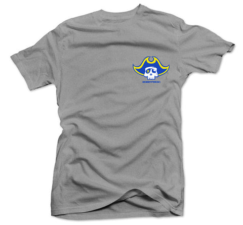 Goonies Heather Grey/Yellow Tee